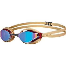 arena Python Mirror duikbrillen goud